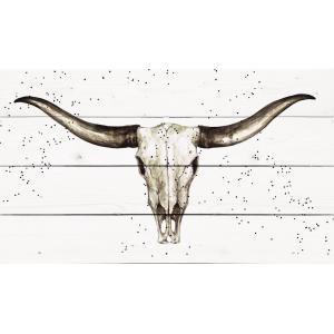 Longhorn Skull - Pallet Décor