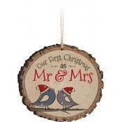 Ornament - Mr. & Mrs.