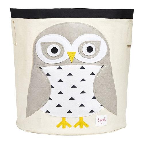 Snowy Owl Storage Bin