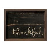 Serving Tray Thankful