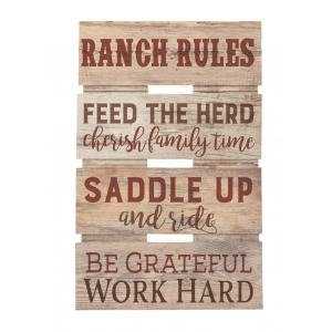Embellished Décor Ranch Rules