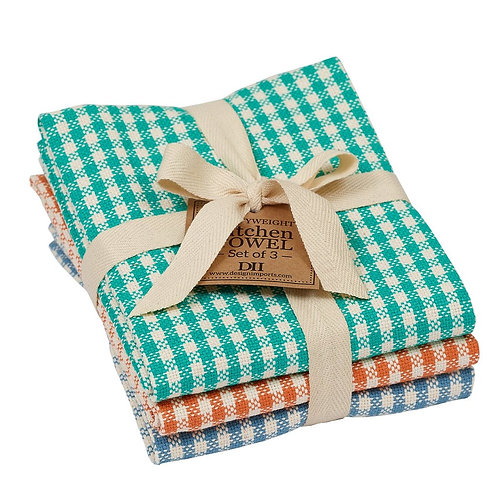 Camp Checks Dishtowel Set of 3