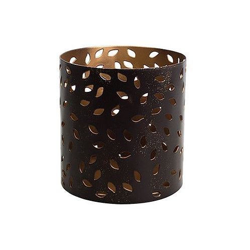 Glowing Leaf Petite Candle Holder
