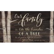 Pallet Décor - Our Family is...