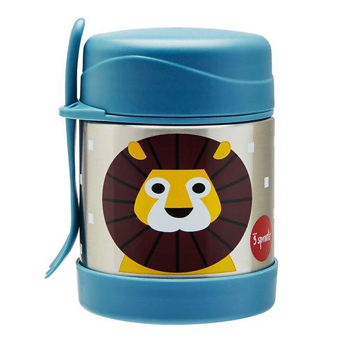 Lion Stainless Steel Food Jar