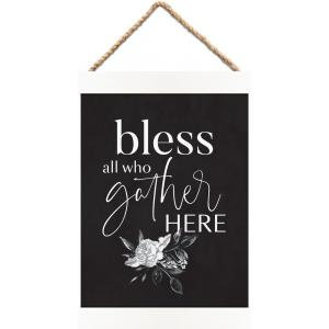 Bless All Who Gather Here - Banner