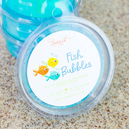 Fish Bubbles Kids Toy Bar Soap