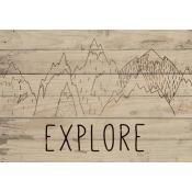 Small Sign Explore
