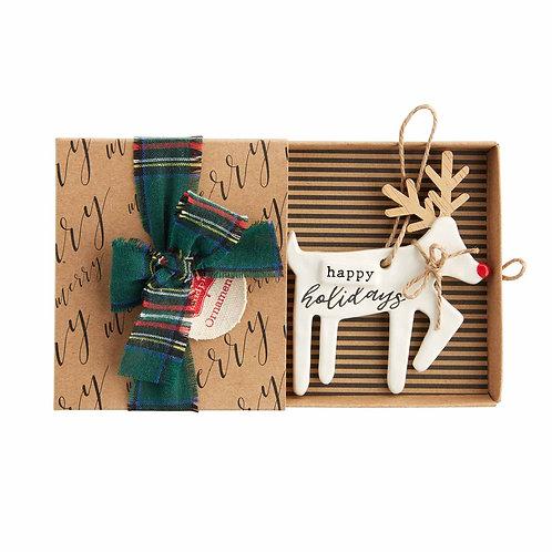 Holidays Reindeer Ornament