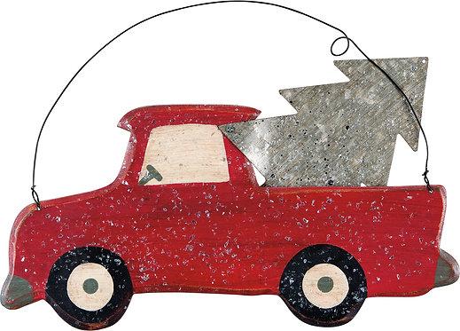 Tin Sign - Tin Truck