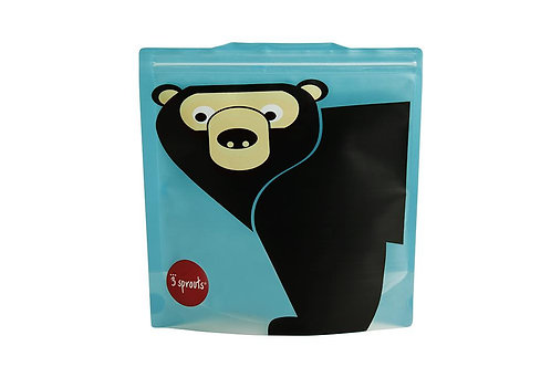 Bear Sandwich Bag (2 pack)