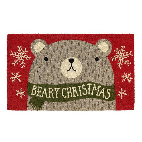 Beary Christmas Doormat