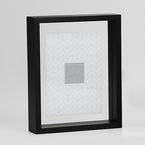Preview Floating Box Frame 5x7 - Black