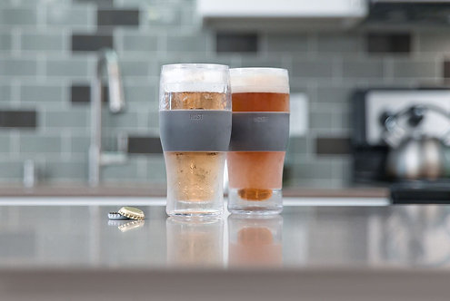 FREEZE™ Cooling Pint Glasses by HOST®