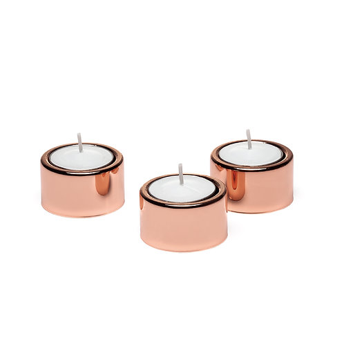 Halo Metal Tealight Holders