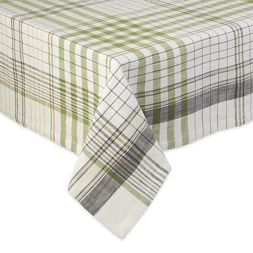 Herb Garden Plaid Tablecloth