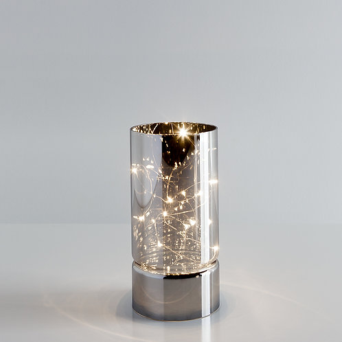 Smoke Mirror Hurricane LED Decor Lamp