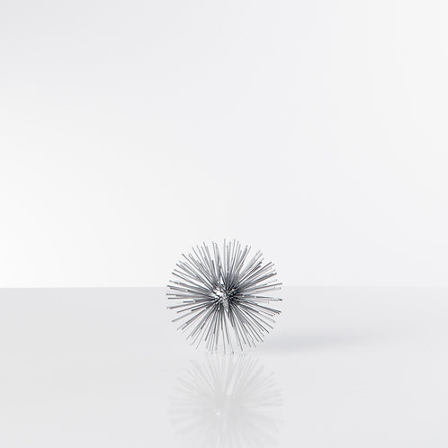 Spike Décor Silver Sphere