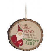 "Ornament ""Naughty List"""