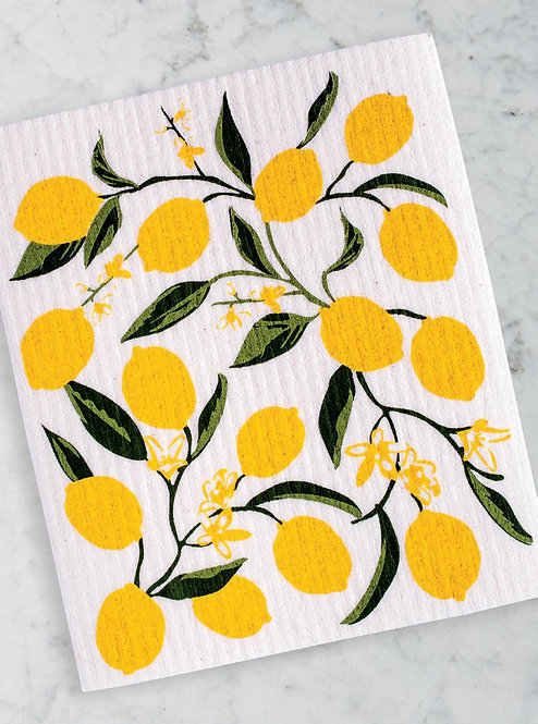 Lemon Bliss Swedish Dishcloth