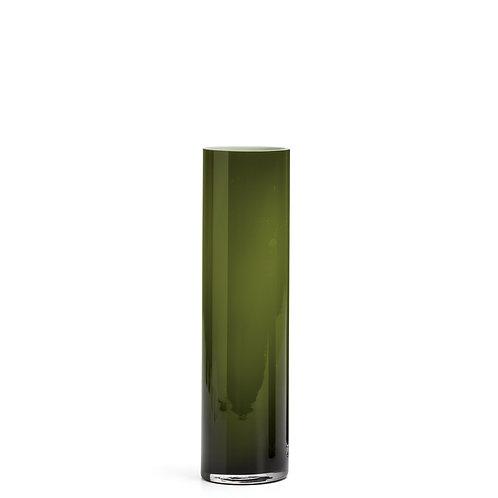 """Rise Cylinder 12""""h Glass Vase"""