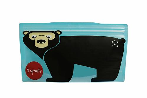 Bear Snack Bag (2 pack)