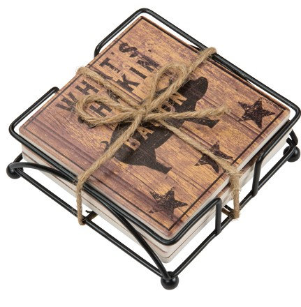 Stone Coaster Set - Farmhouse