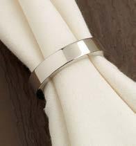 Silver Circle Napkin Ring