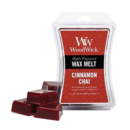 WoodWick Hourglass Wax Melt - Cinnamon Chai