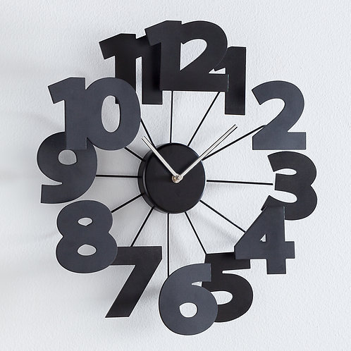Numeric Floating numbers Clock