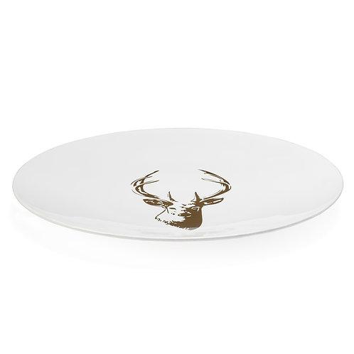 Stag Gold Motif Platter