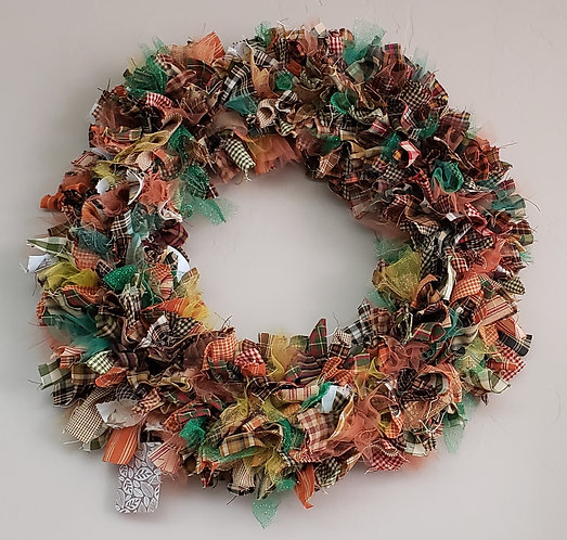 Fall Wreath - Glow in the dark