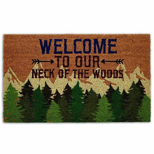 Welcome Woods Doormat
