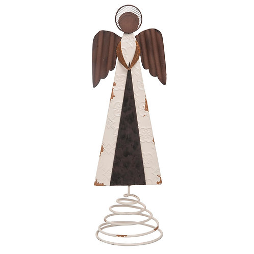Rusty Angel Tree Topper