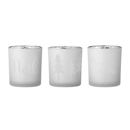 Glass Votive in Frosted
