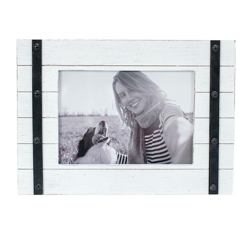 Austin Photo Frame White