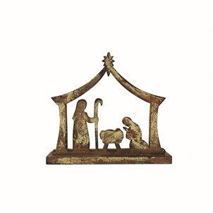 Mango Wood Nativity Figure