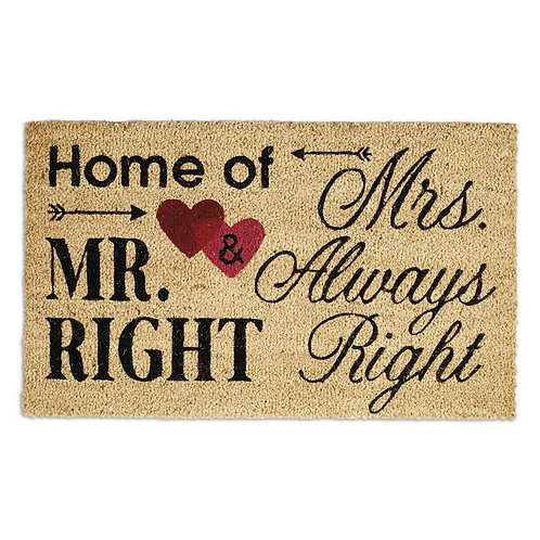 Home of Mr. & Mrs. Doormat