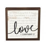 Framed Art Love