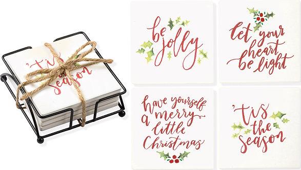 Coaster Set - 'Tis The Season