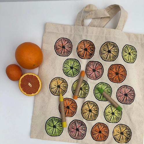 CYO Market Tote Kit: Citrus