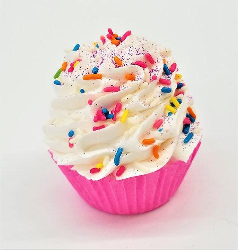 The Sweetheart Cupcake Bath Bomb