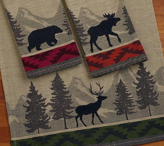 Woods Jacquard Dishtowels