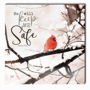 He Will Keep Me Safe - Printed Art