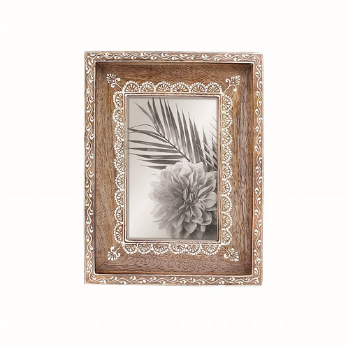 Henna Border Photo Frame