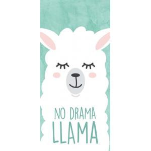 No Drama Llama - Word Block