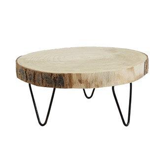 Paulownia Wood Pedestal w/ Legs