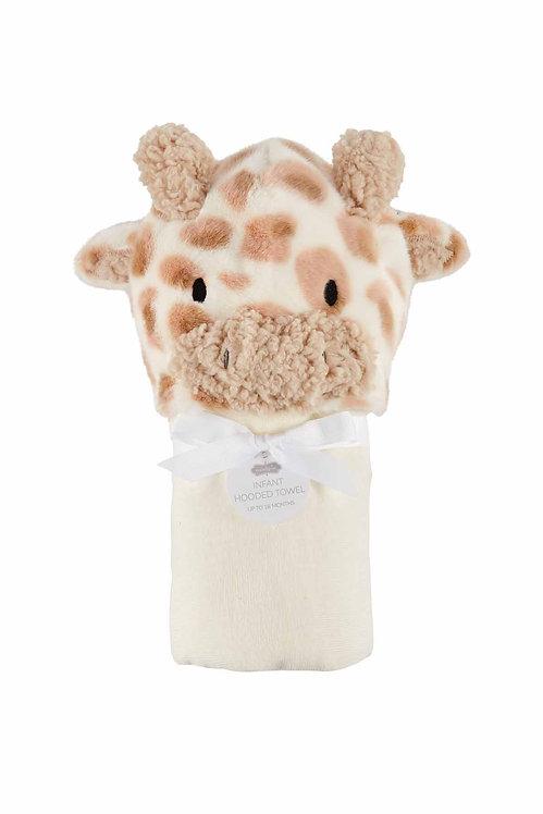 Giraffe Baby Hooded Towel