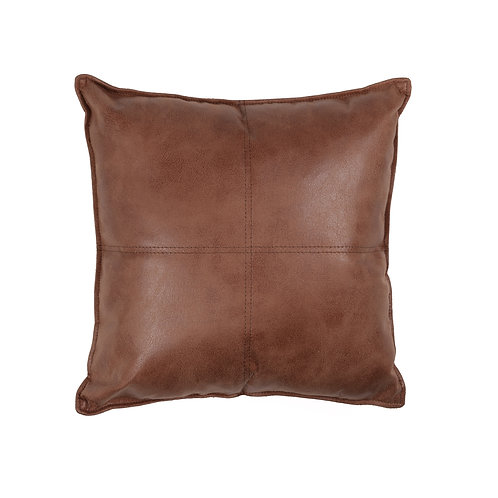 Maverick Faux Leather Cushion/Pillow