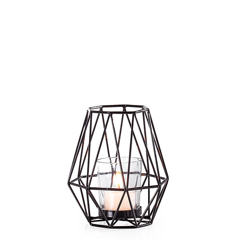 Diamond Deco Metal Tealight Holder